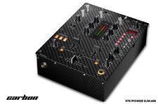 Skin Decal Wrap for PIONEER DJM-400 DJ Mixer CD Pro Audio DJM400 Parts CARBON