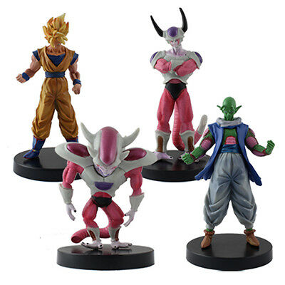 Japanese Anime Dragon Ball Z Characters 12cm PVC Figures Set Of 4pcs
