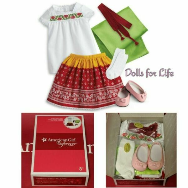 US Seller New American Girl Josefina/'s Navidad Holiday Complete Outfit No Box