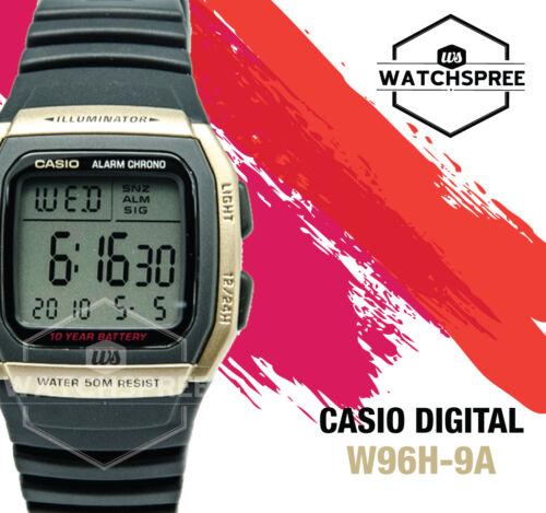 1 of 1 - Casio Digital Watch W96H-9A