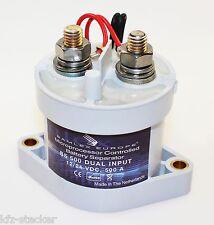 Batterie Trennrelais 12/24V 500A Batteriewächter Batterietrennschalter Relais
