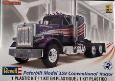 Revell 1/25 Peterbilt Model 359 Conventional Tractor Plastic Model Kit 85-1506