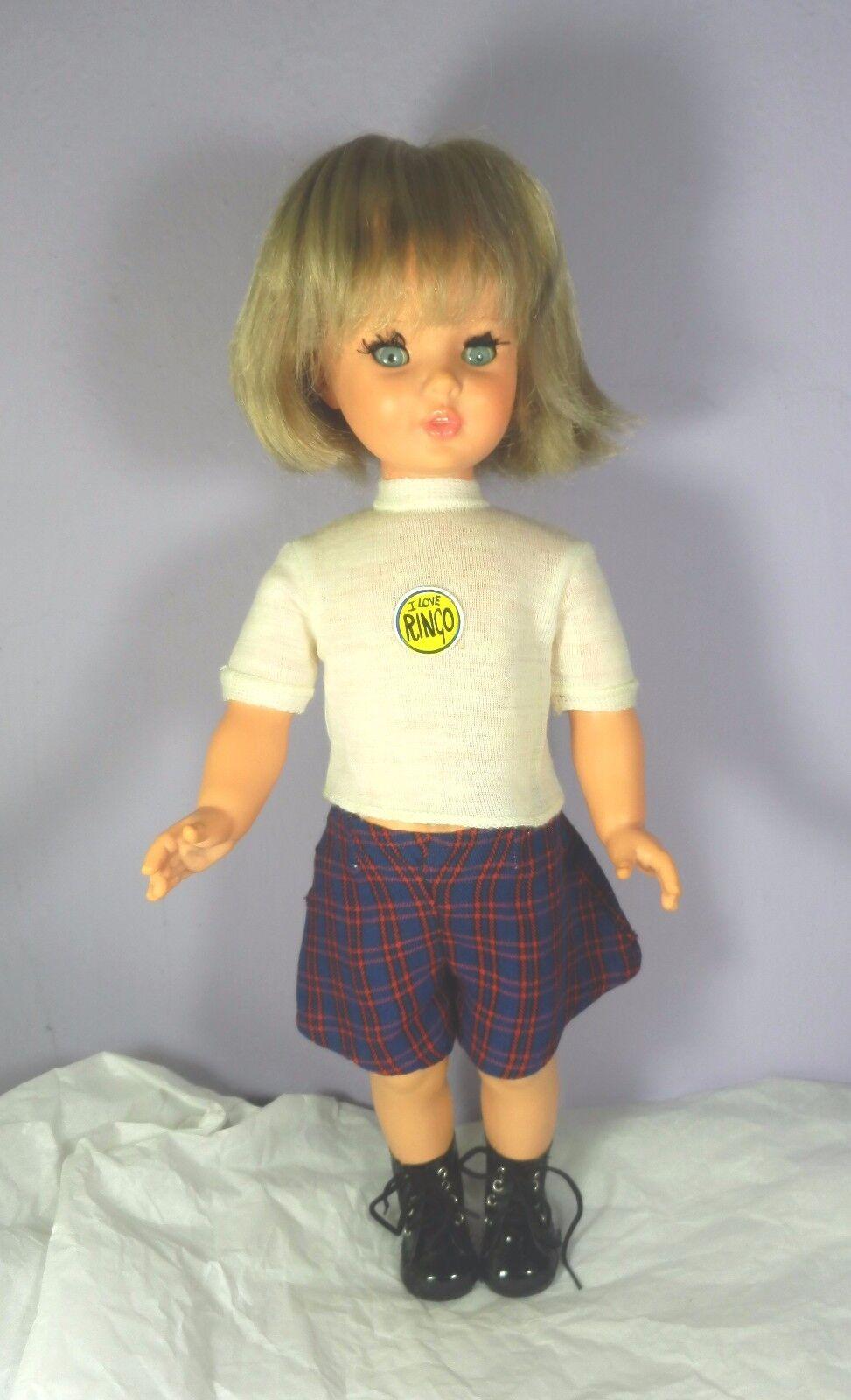 Rara  I love Ringo  Furga Doll Poupee Puppen Vintage Antico Muneca