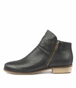 New-Django-amp-Juliette-Split-Navy-Womens-Shoes-Casual-Boots-Ankle