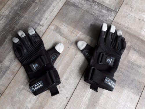 Wakeboard/Wasserski-Handschuhe (Größe S, schwarz/blau)
