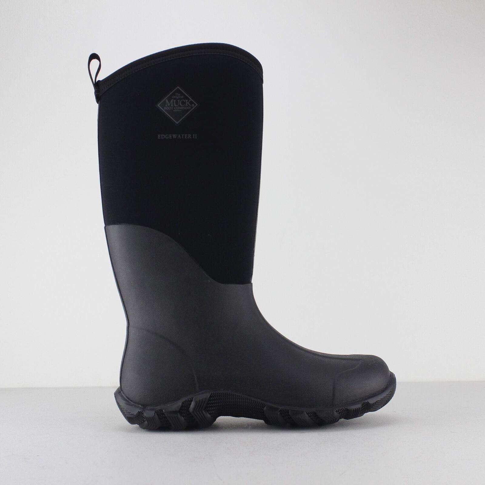 Muck Botas Edgewater II Unisex para Hombre Hombre Hombre para Mujer Wellington Impermeable Botas De Lluvia Nuevo 0e17e6