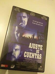 Dvd-AJUSTE-DE-CUENTAS-CON-HARVEY-KEITEL