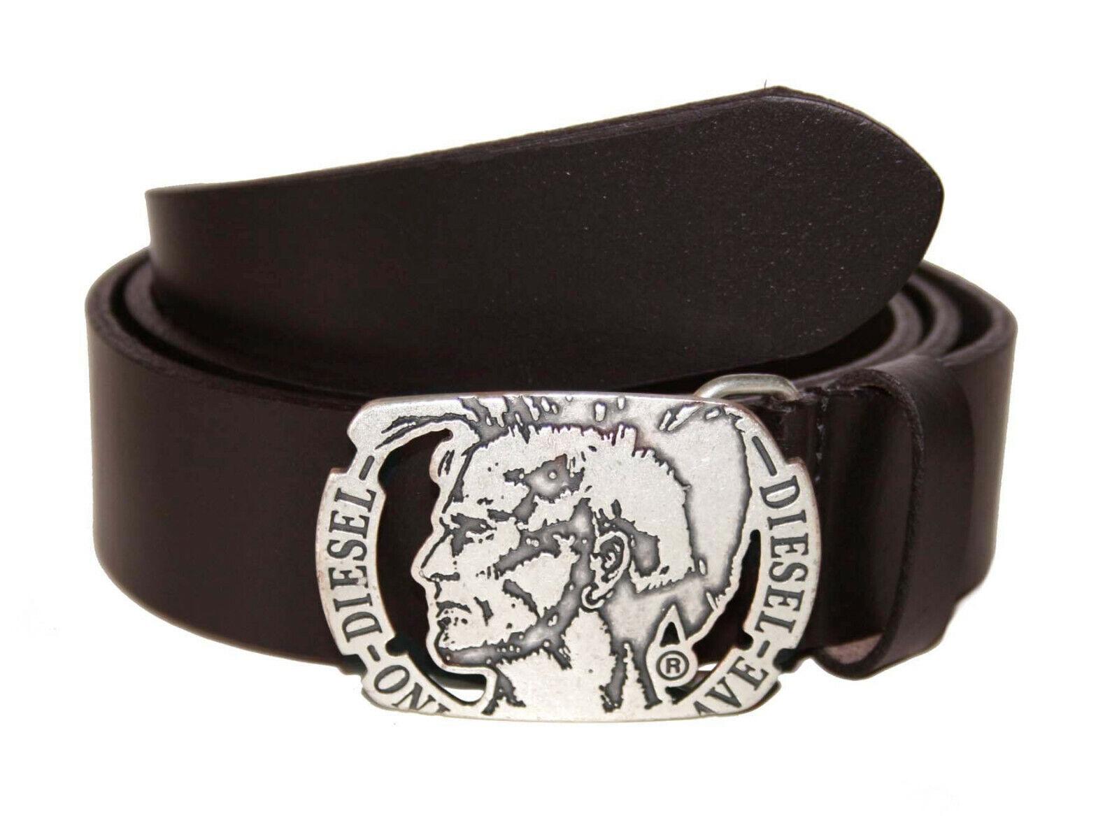 Diesel Belt Leather Belt Leather Belt Size 90