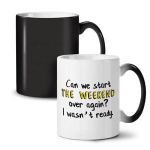 Start Weekend NEW Colour Changing Tea Coffee Mug 11 oz | Wellcoda
