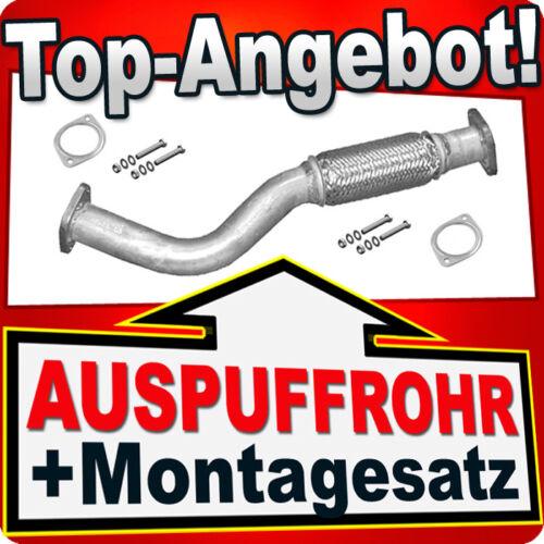 Hosenrohr ALFA ROMEO GT /& GTV /& SPIDER /& 156 2.0 JTS 02-10 Auspuff Flexrohr KLB