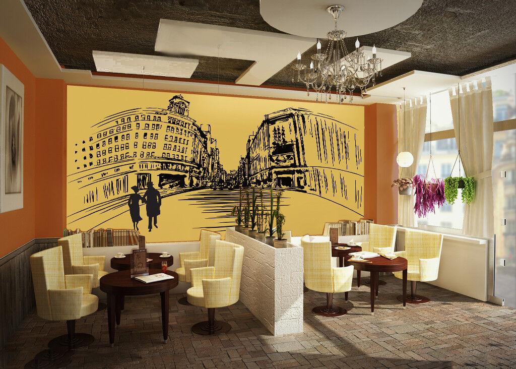 3D Städtische Graffiti 7985 Tapete Wandgemälde Tapeten Bild Familie DE Lemon  | Online-verkauf  | Günstigen Preis  | Hervorragende Eigenschaften
