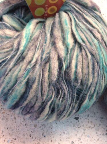 Dot A/&S Yarn Adriafil Wool Blend Blue Gradient Lot Of 2 Skeins 50 Grams