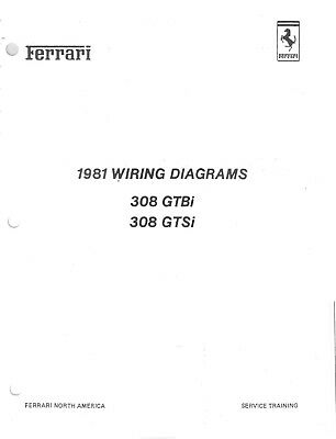 Ferrari 308 GTBi GTSi Wiring Diagrams Manual ☑️ | eBay on ferrari 246 wiring diagram, ferrari 330 wiring diagram, ferrari 308 frame, ferrari 308 fuel pump, ferrari 308 radiator, ferrari 308 tires, ferrari 308 firing order, ferrari 355 wiring diagram, ferrari 308 oil filter, ferrari 308 wheels, ferrari 308 parts, ferrari 308 transformer, ferrari mondial wiring diagram, ferrari 308 gtsi, ferrari 456 wiring diagram, ferrari 308 exhaust, ferrari 308 seats, ferrari 308 speedometer, ferrari 308 engine, ferrari 308 timing marks,