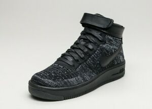 7fba4d3089ede Nike Air Force 1 Flyknit High Top Basketball Fashion Sneakers 818018 ...
