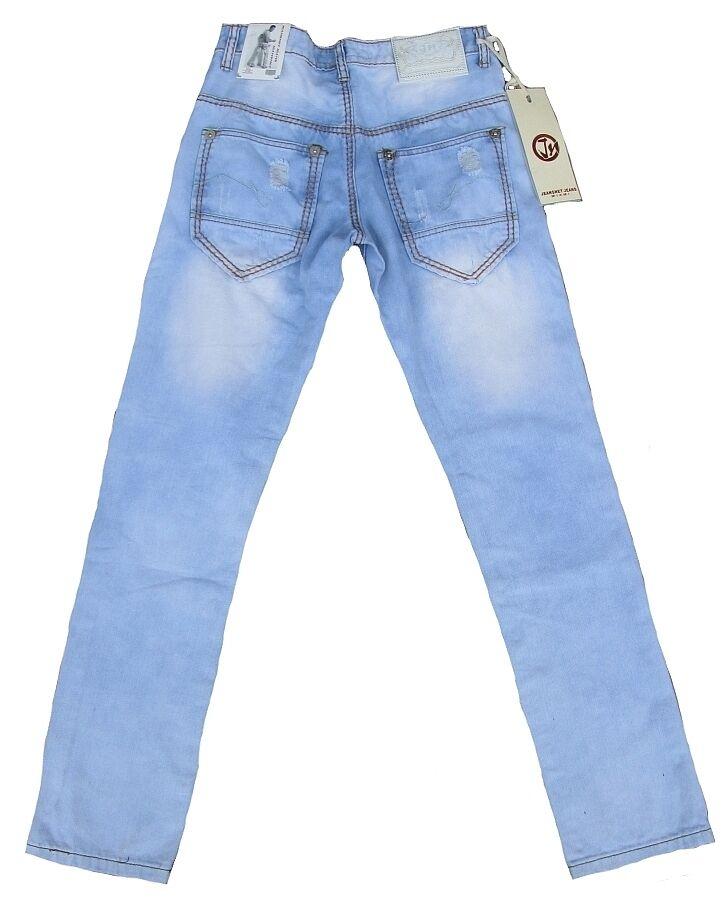 Jeansnet Jeans Hose Destroyed JN-7003 Wash189 Waschung Size 30 33 34 W30 W33 W34