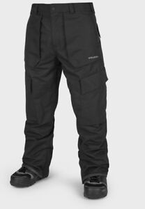 2019-NWT-MENS-VOLCOM-EASTERN-INSULATED-PANTS-L-Black-snowpant