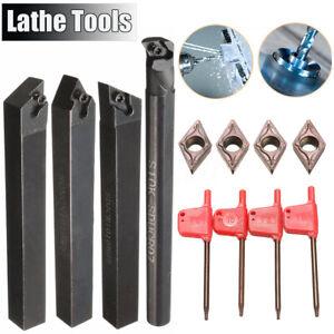 4x tornos 10x10mm perforación barra soportes de fijación giratoria acero + placas de inflexión