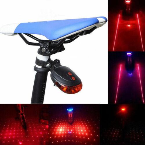 Rear Flashing LED Bike Tail Lamp Taillights Red Beam Light Safety Warning