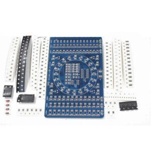 SMT-SMD-Component-Welding-Practice-PCB-Board-Soldering-Plate-DIY-Suite-Kit