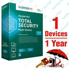 KASPERSKY TOTAL SECURITY Multi-Device 1PC/1YEAR | PURE BETTER INTERNET SECURITY