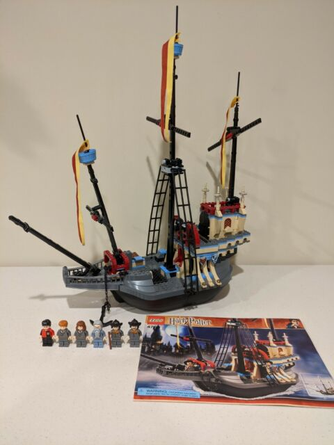 Lego Harry Potter X1 Durmstrang Stag Shield Deer Skull Phoenix Minifigure For Sale Online Ebay The ship could travel underwater, though, in practice, the students steered while headmaster igor karkaroff stayed in his cabin. lego harry potter the durmstrang ship 4768 w bonus minifigures 1 piece miss