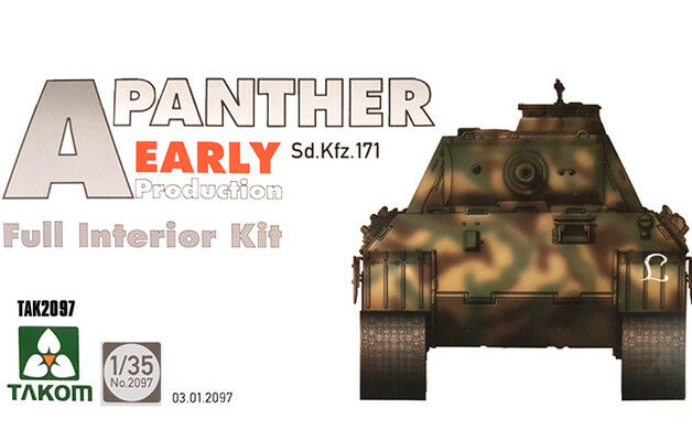 1 35 Takom Panther Ausf.A Early Production (Full Interior)