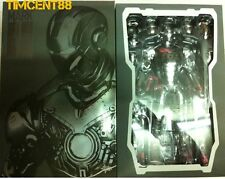 Ready! Hot Toys MMS150 Iron Man 2 Mark II Armor Unleashed Version 1/6 Normal