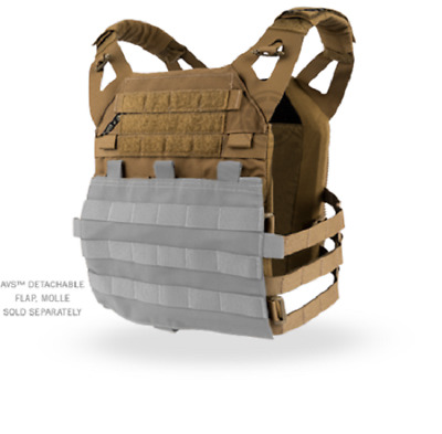 Large Crye Precision JPC Jumpable Plate Carrier Vest Coyote Tan
