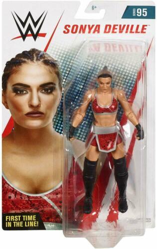 WWE Sonya Deville figurine série Mattel 2018 95 jouet de catch Diva