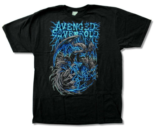 Avenged Sevenfold Power Tour Black T Shirt New Asia Official Adult A7X