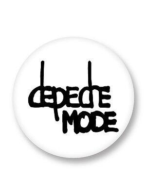 Magnet Aimant Frigo Ø38mm Depeche Mode Logo New Wave Rock UK