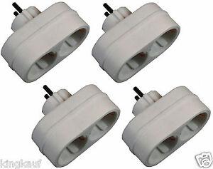 EF-Zweifachsteckdose-4x-2-fach-3-85-St-Steckdose-Schuko-Y-Adapter-Euro-Y-Z