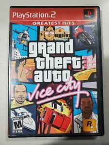 Grand Theft Auto Vice City  Complete PS2 PlayStation 2