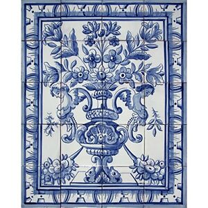 Antique Hand Painted Tiles