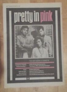 Pretty-in-pink-1986-press-advert-Full-page-28-x-39-cm-mini-poster