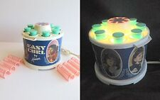 Kenner Childrens Easy Curl Hair Setting Styling Salon Hot Rollers Kit 1968