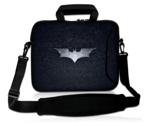 "Black 17/"" 17.3/"" Laptop Shoulder Bag Sleeve Case Pouch For HP Dell Microsoft"