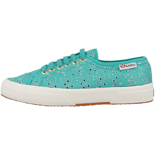 on sale 666dd d40be Superga Scarpe 2750 Sangallo Sneaker Donna Calzature Prv/estate Aquamarine  969gn 42