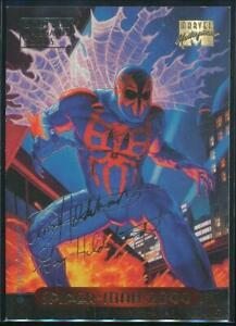1994-Marvel-Masterpieces-Gold-Signature-Trading-Card-116-Spider-Man-2099
