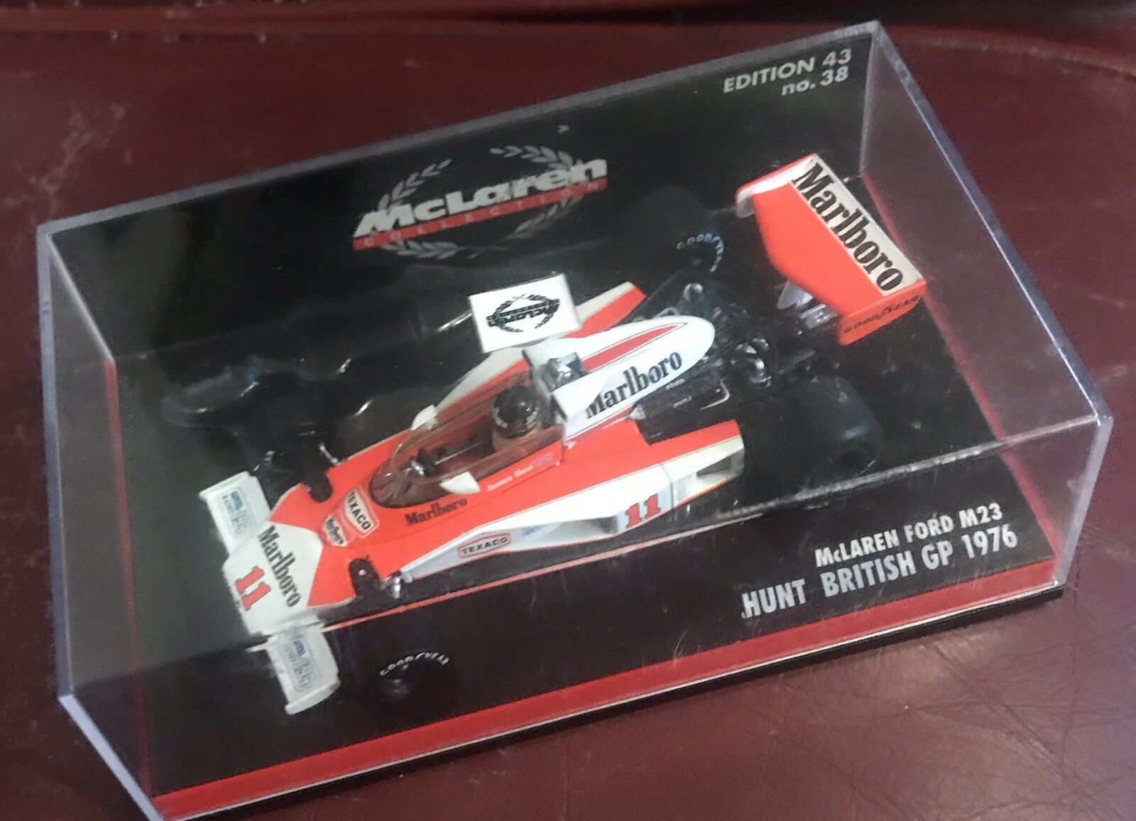 James Hunt Minichamps M23 British GP 1976