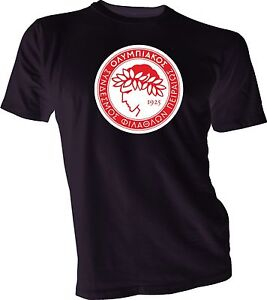 260ebcc1a OLYMPIACOS FC Greece Football Soccer T-SHIRT NEW Size s-4xl Men s ...
