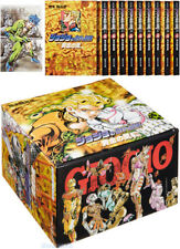 JoJo's Bizarre Adventure VENTO AUREO Golden Wind #30-39 Manga BOX SET w/Postcard
