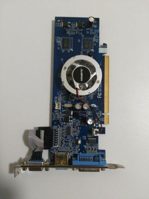 Gigabyte GV-N84S-512I rev 1.4 Graphics Card HDMI/DVI/VGA NVIDIA 8400 GS 512 DDR2