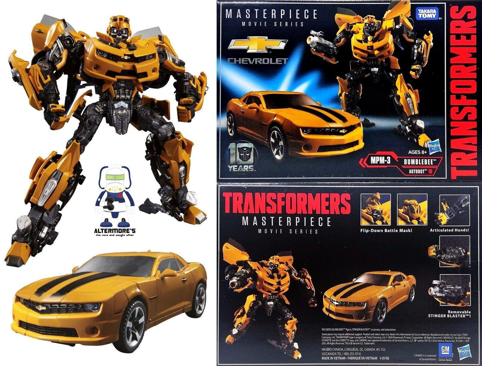 Transformers Hasbro Masterpiece Film MPM-03 Bumblebee DGSIM   obtenir la dernière