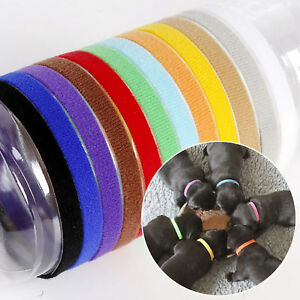 12-colors-Identification-ID-Collars-Bands-Whelping-Puppy-Dog-Pet-Cat-New