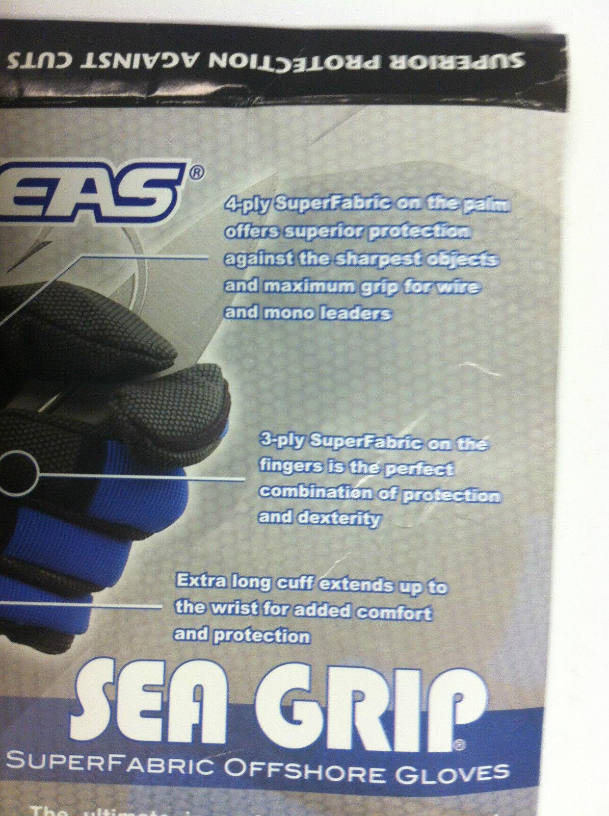AFW SEA GRIP SUPER FABRIC OFFSHORE GLOVES - Blau Blau Blau - ULTIMATE PROTECTION edbb0f