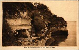 CPA MESCHERS-les-BAINS - Les bords de Mer (104456)