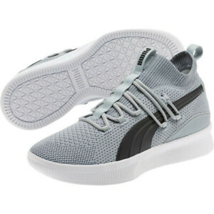 3a1ef87539 Details about Puma Clyde Court Core Grey Basketball Sneakers Free Shipping