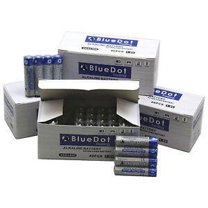 (120 PACK) AAA TRIPLE A HEAVY DUTY BATTERIES BlueDot Alkaline 1.5V ~NEW FREE SH