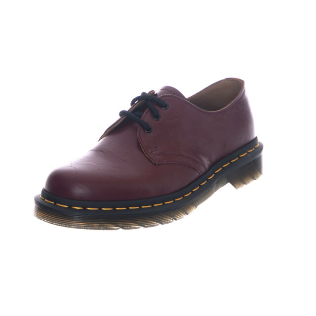 900d3573f2 Dr Martens X Bape UK 10 Cherry Red Shoes 1461 Embossed Camo Bathing ...
